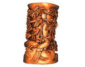 president 3D print model Pen case