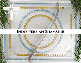Ancient Indo Persian Shamshir 3D asset