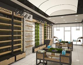 pharmacy scene 3D loft