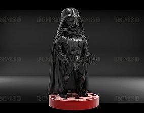 Darth Vader cellphone and joystick holder 3D print model