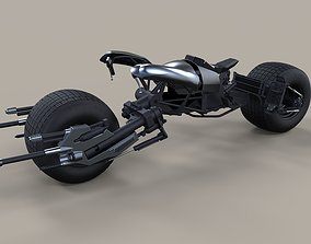 Batpod from The Dark Knight and The Dark Knight 3D model