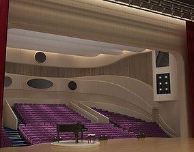 3D model Theater seat