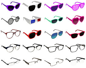 Glasses collection 3D