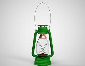 Lantern 3D model game-ready