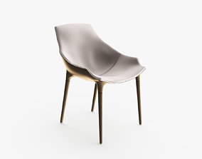 3D model Milady Reflex Chair Leather