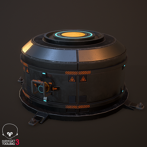 Futuristic barrel