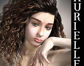 Aurielle For G8F with Expressions 3D model