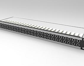 3D model Patch Panel 2x26