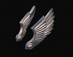 Wings Stylized 3D print model