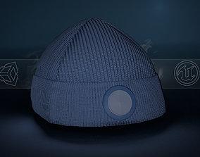 3D model Blue Beanie