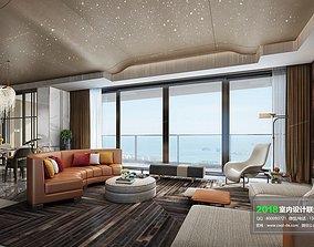 Modern Living room 6 3D