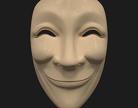 Asian Mask 3D asset