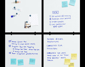 3D model PolyVision - WhiteBoard Note