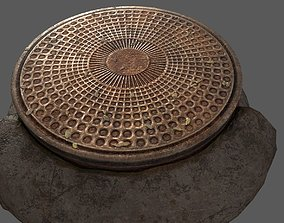 tree sewerage cap 3d Print model ready to use