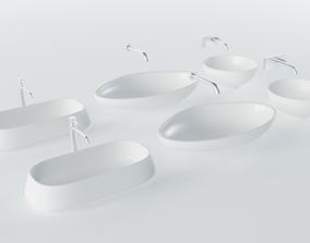 3D asset Wash Basins