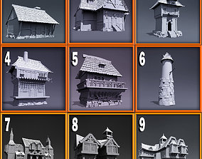 Ultimate medieval style houses Base Model