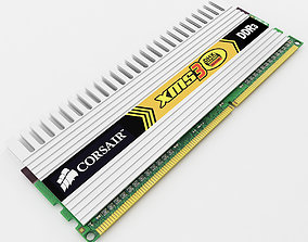 XMS DDR3 DHX Ram 3D model