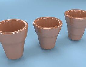 Flower pots 3D