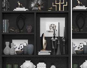 Decorative shelves 3D model