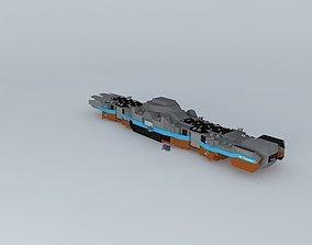 3D model SB Cheyenne Dreadnought class