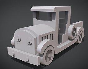 3D print model Pickup Truck Toy