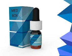 medication 3D model Dropper 07