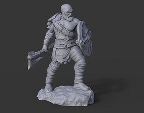 Kratos miniature - God of War 3D printable model