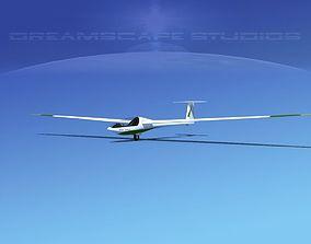 Glaser Dirks DG200 15Mtr Sailplane V06 3D