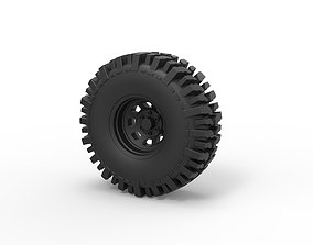 Diecast Offroad wheel 11 3D printable model