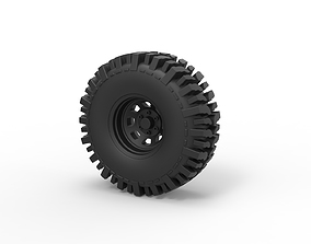 Diecast Offroad wheel 11 3D printable model