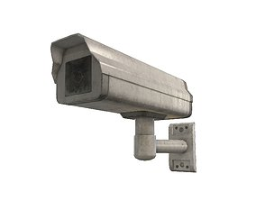 Security Camera 3D model animated