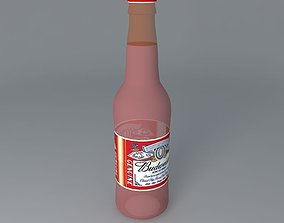 Budweiser beer bottle 3D budweiser