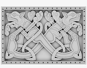 3D model Celtic Ornament 22