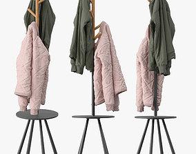 Kangleon Coat Rack 3D model
