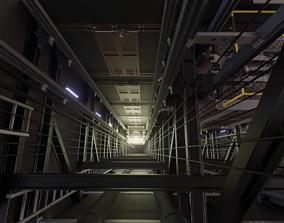 3D model Elevator Frame