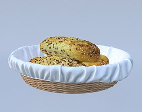 Realistic Bread 3D Modeling other