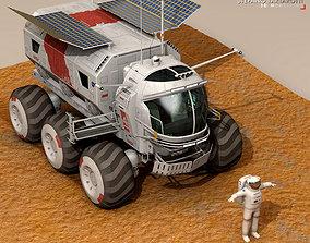 3D model Lunar vehicle