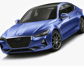 3D model Genesis G70 2018