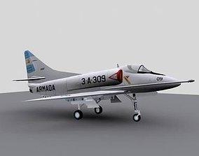 3D asset A-4Q AR