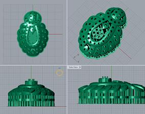 3D print model myanmar ring by jds