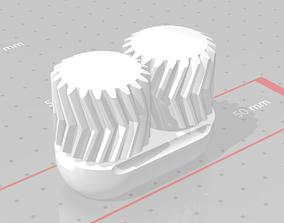 Antikythera Mechanism helical 3D printable model 5