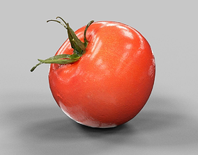 3D model low-poly Tomato 3d