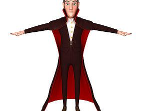 Dracula Cartoon 3D model