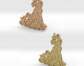 Dancing Couple Pendant 3D printable model