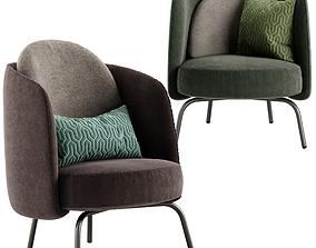 Ditre italia Lucia armchair 3D