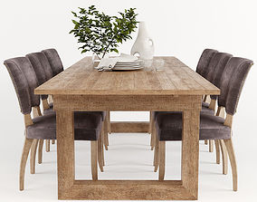 Causeway Dining table 3D model