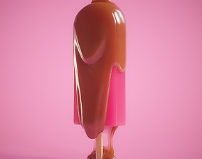 sweet 3D model animated Ice Cream