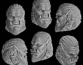 Durotan head 3D printable model