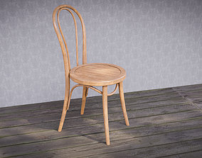 3D asset Classic wood chair