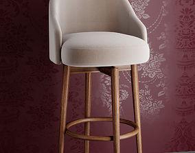 saddlebar counter stool bar stool render ready vray 3D